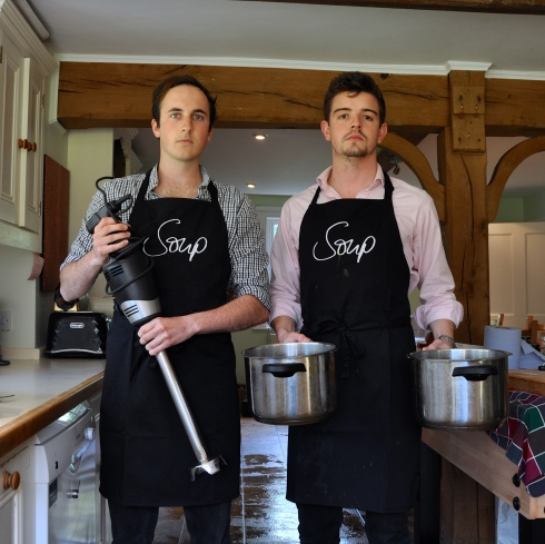 Serious aprons for serious chefs